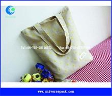 Shopping Bags Wholesale Custom Linen Tote Bag Hot Selling High Quality Products