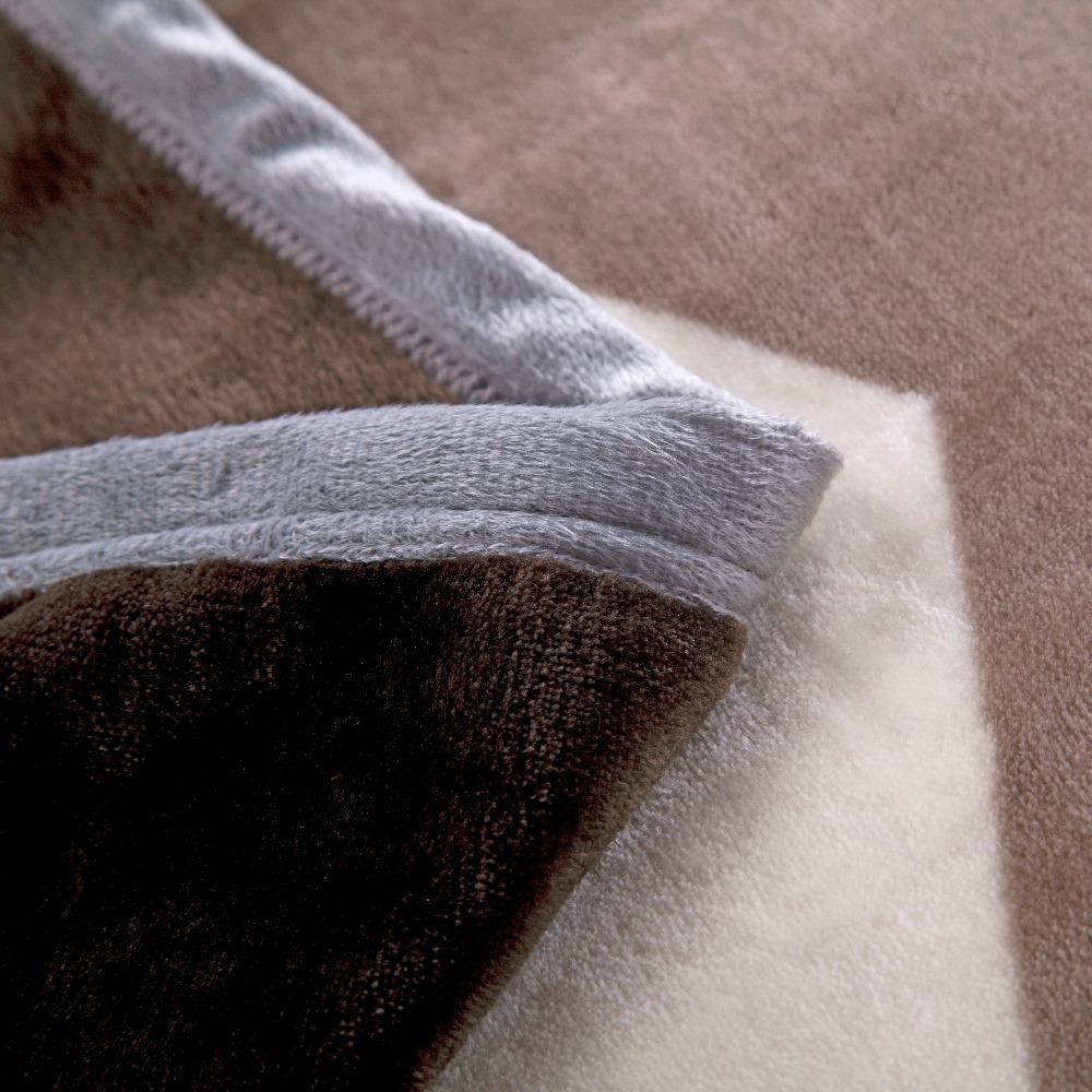 sensory mink fleece blanket
