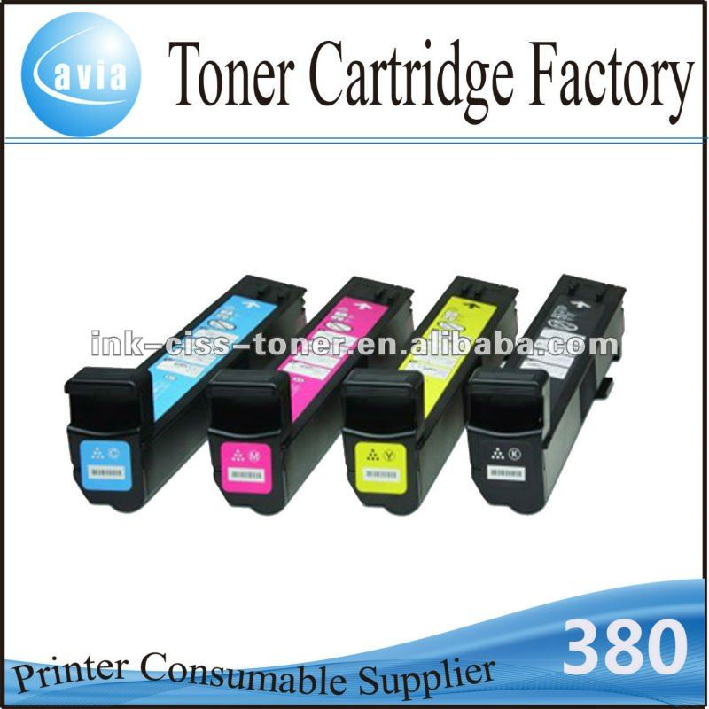 China toner cartridge spare part CB380 CB381 CB382 CB383 for HP LaserJet CM6030 CP6015
