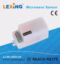 PC material 100-240V warehouse sensor detecting motion radar sensor