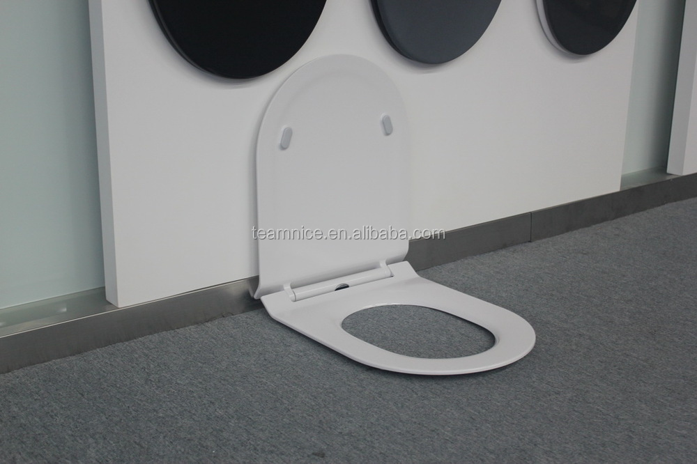 self closing toilet seat lid. Urea customized unique plastic self closing toilet seat cover  lid Customized Unique Plastic Self Closing Toilet Seat Cover