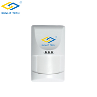 Low Battery Alert 433MHz Wireless Passive Infrared PIR Sensor Motion Detector