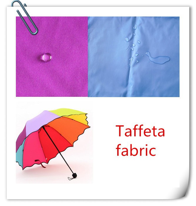 clearance stock lots whole sale taffeta fabric for colorful umbrella
