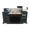 Hot selling WER-E3055UV mobile power bank printing machine/cellphone charger printing machine/flatbed uv printer