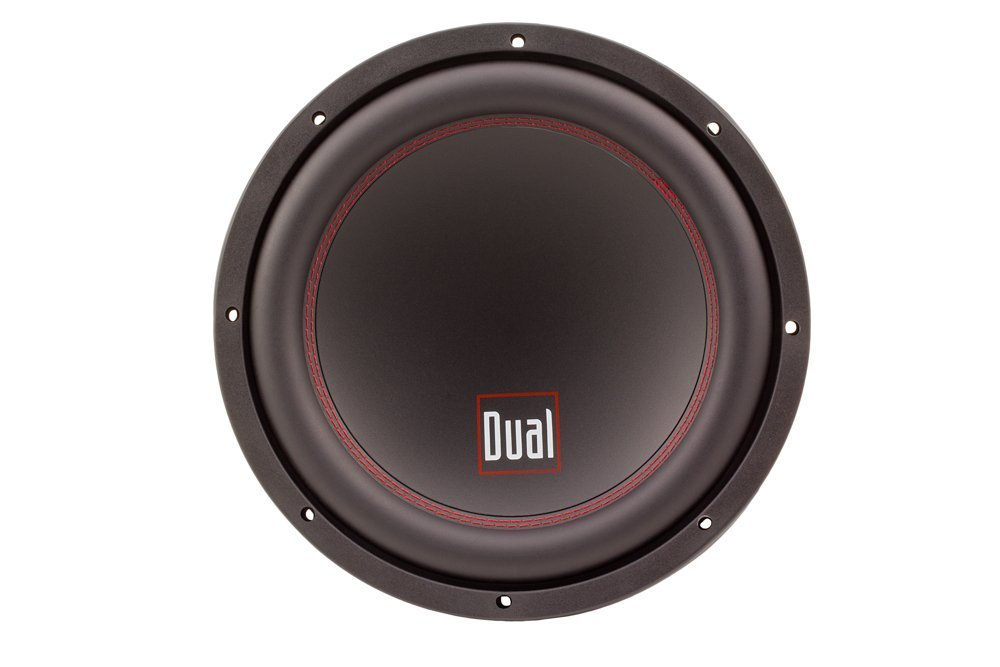 DUAL Electronics DSW101D 10-inch High Performance Subwoofer with 4-Layer 2-inch Copper Voice Coil and 700 Watts of Peak Power