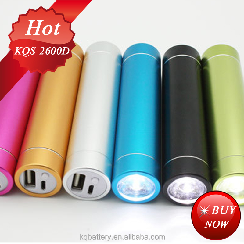 High Power Led Flashlight 2600mAh power bank for samsung galaxy s3 mini/i8190