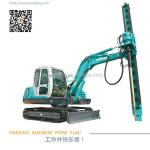 Electric Ground Screw Pile Driver
