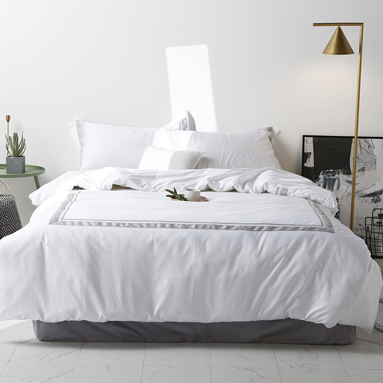JR591 European and American Style Home Textile Cotton Sateen Bedding Article