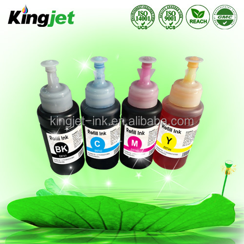 Compatible for EcoTank series 664 ink for ET4500 ink refill kit