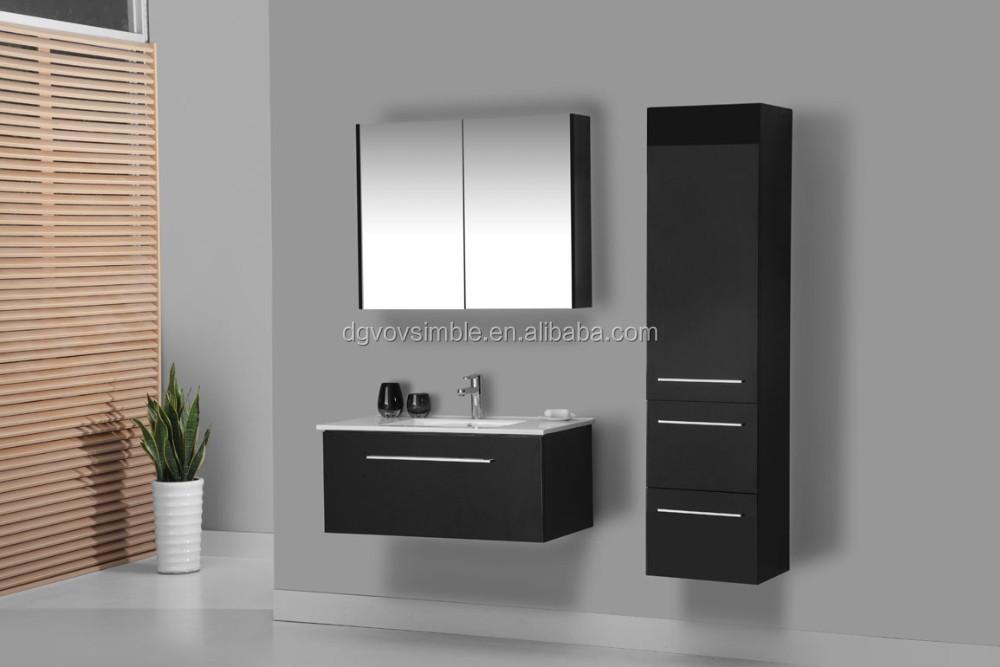 Set Da Bagno Moderno : Parete moderna montato bagno moderno specchio mobiletto del bagno