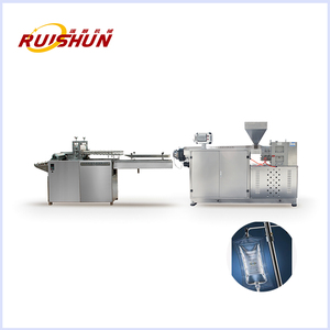 Medical infusion bag tubular film production line