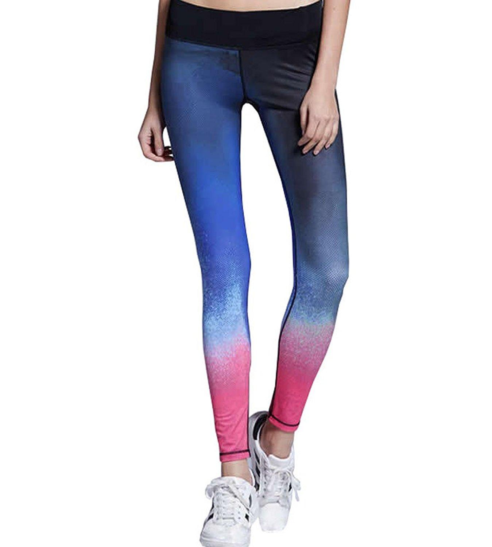 Alisa.Sonya Gradient Ramp Women's Sport Yoga Legging