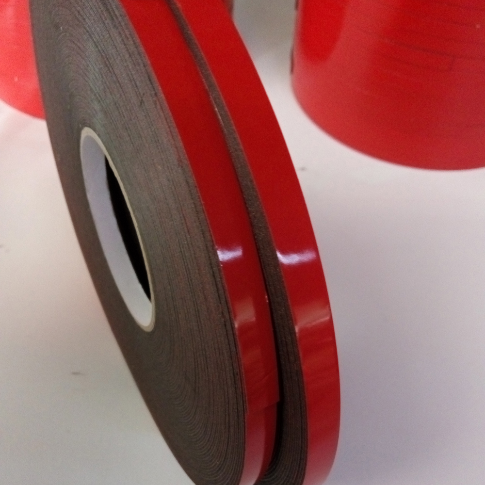 Strong Lasting Solvent Adhesive Foam Tape For Weather Stripping