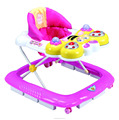 WALKER BABY 2017 POPULAR BUTTERFLY FACE WITH MUSIC AND LIGHT EUROPEAN BASE BABY WALKER