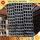 square hollow steel metal tube section shape astm a500 rectangular pipe