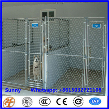 Large Galvanized And Welded Dog Kennel