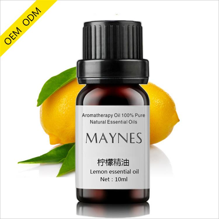 Private label natural lemon essential oil help cure acne