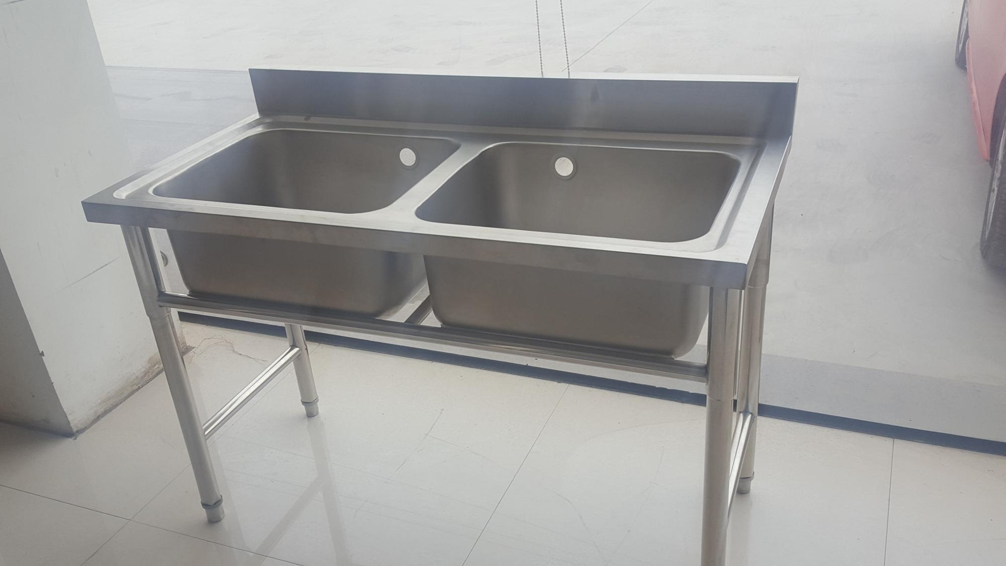 Commercial Kitchen Hot Sale 300mm Deep Bowl Stainless Steel Kitchen Sink Floor Stand Buy 300mm Deep Kitchen Sink Commercial Kitchen Sink 300mm Deep