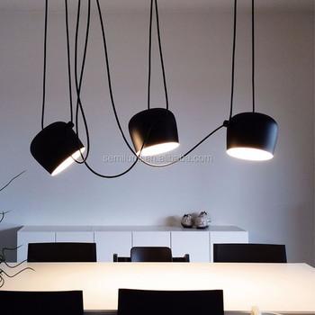 De Aim Suspensión Multipunto Lámpara Buy Luz Europea Lámparas Luz Colgante Multipunto Lámpara De Colgante Suspensión Objetivo Techo Negro dBWCerox