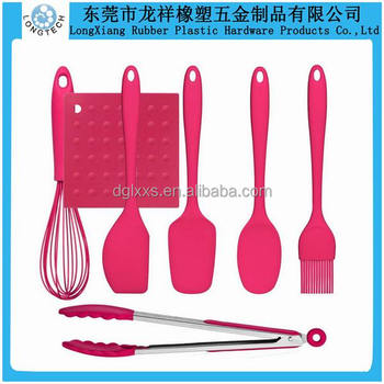 Colorful Food Best Silicone Rubber Kitchen Cooking