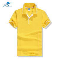 Latest design custom 100% pure cotton casual mans blank polo t shirt