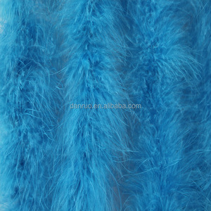 Wholesale turkey feather boa trim for garment
