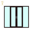 Exterior French Door Glass Inserts bifold door Wholesale Isreali Security French Door Systems