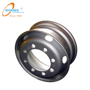 China 7.50*22.5 Tubeless steel Wheel for semi trailer and truck