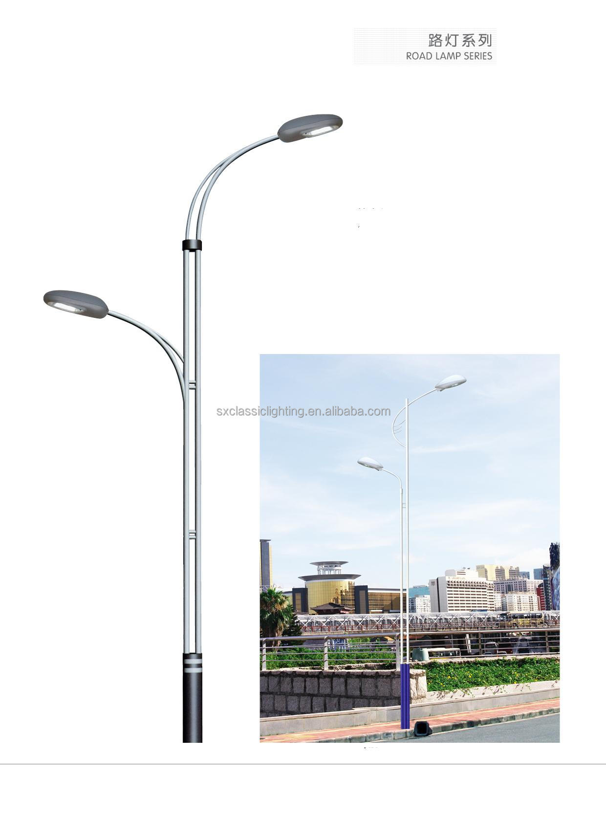 Fiberglass Light Post : Fiberglass street light pole iron