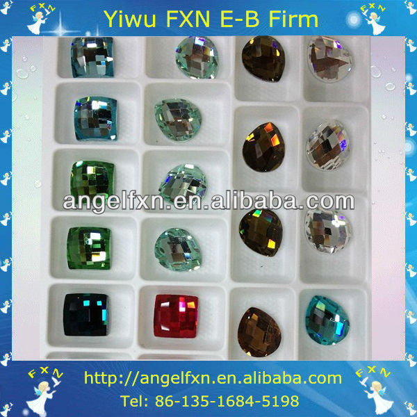 wholesale alibaba flat back crystal glass bead manufactures
