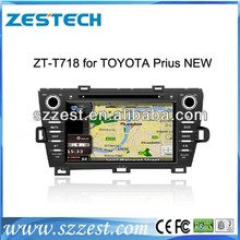 Zestech in car gps car radio dvd player bluetooth for Toyota Prius