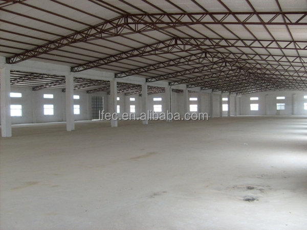 Precise steel structure warehouse drawings for space frame building