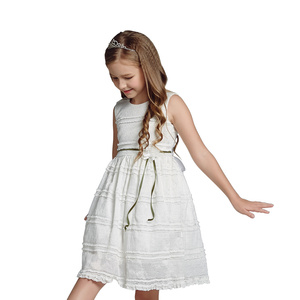 Baby Girl Party Dress Designs Wholesale Kids Wear for Children Frocks