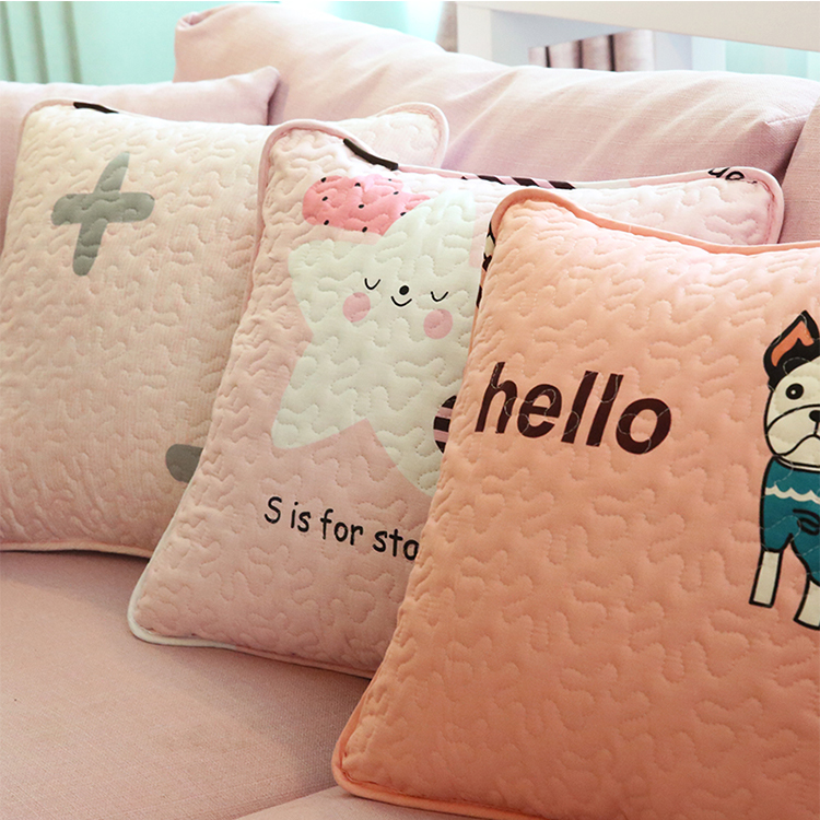 Ginzeal New Products 2018 Custom Cushion Pillow Cover