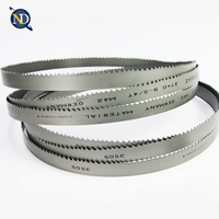 bandsaw blade wood mizer machine use band saw blade hardened teeth blade
