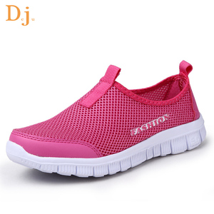 High quality mesh breathable women running shoes