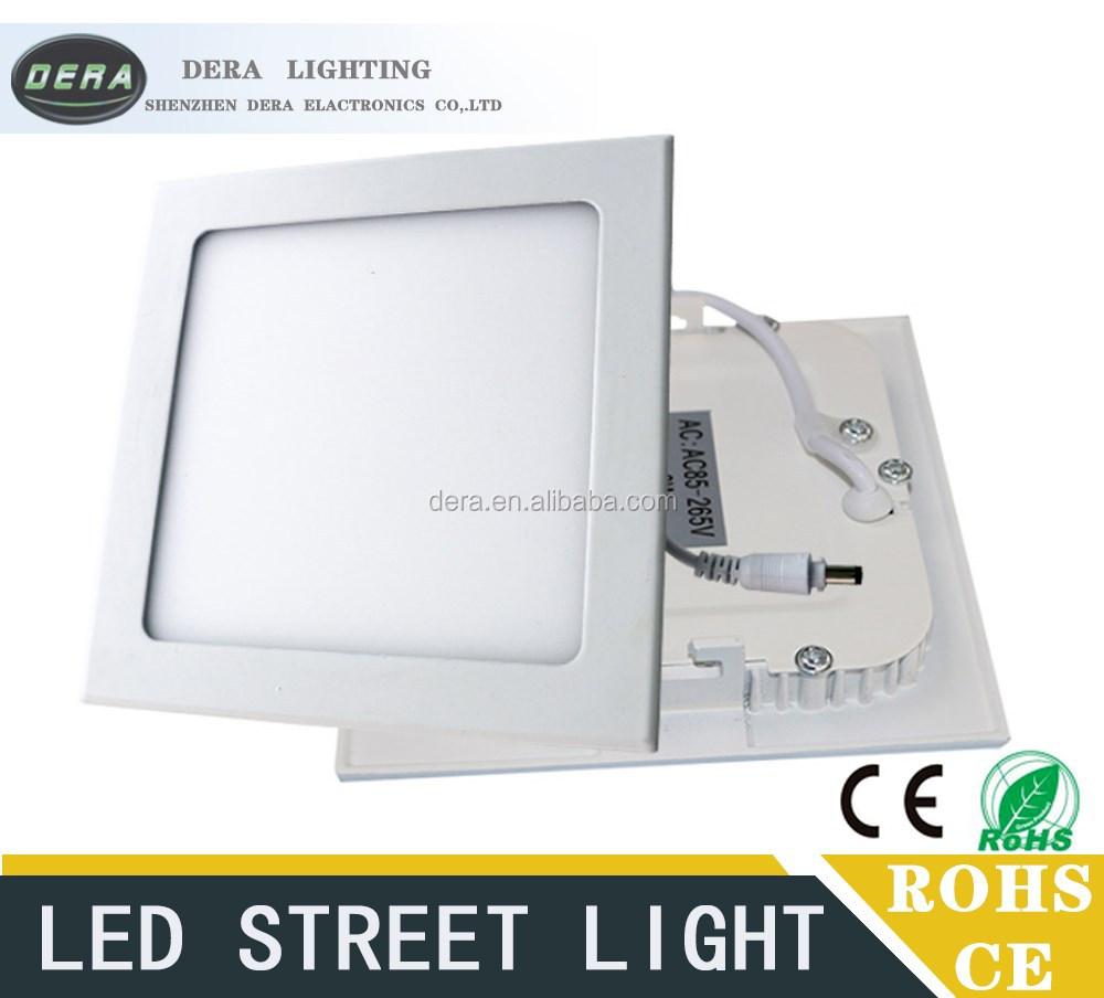Led Panel Lights 240*240mm 18w Led Light Lamp Solar Lighting Made ...