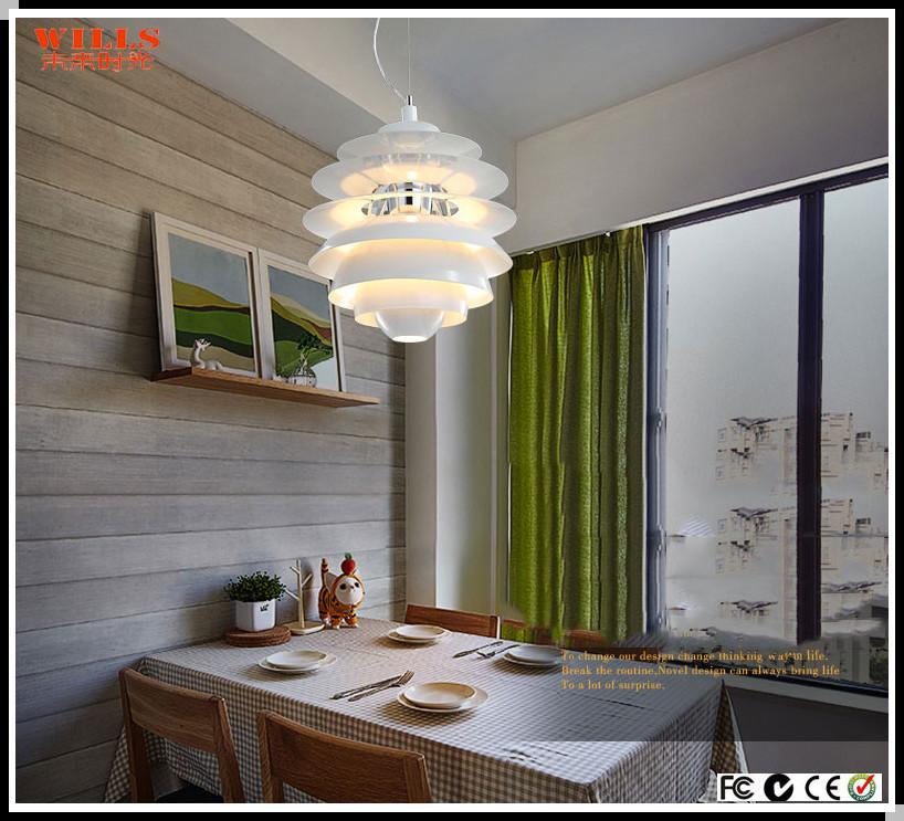 Replica de aluminio moderna l mpara ph artichoke l mpara for Replicas de lamparas