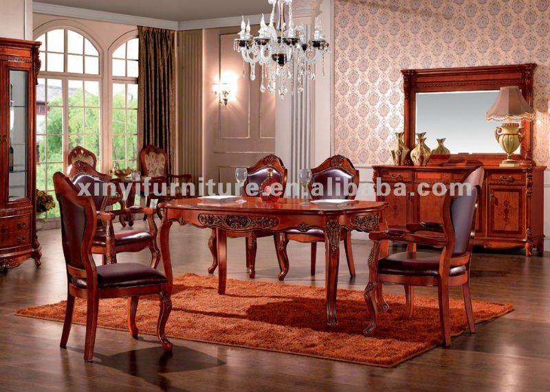 Mesa y sillas de comedor en madera fa858 mesas de madera for Sillas de comedor modernas en madera