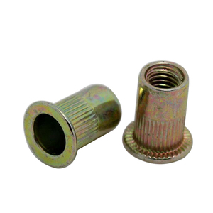 China fasteners 1/4-20 threaded inserts stainless steel rivet nut