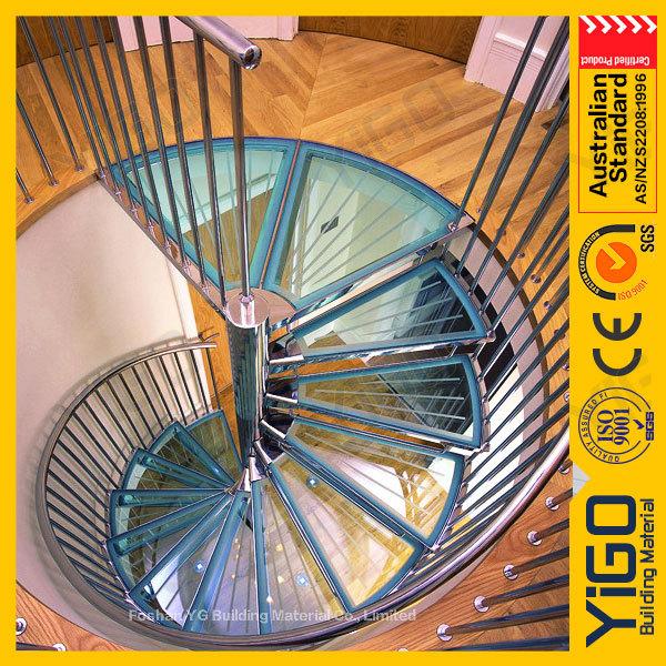 espiral de cristal espiral espiral de cristal de acero inoxidable