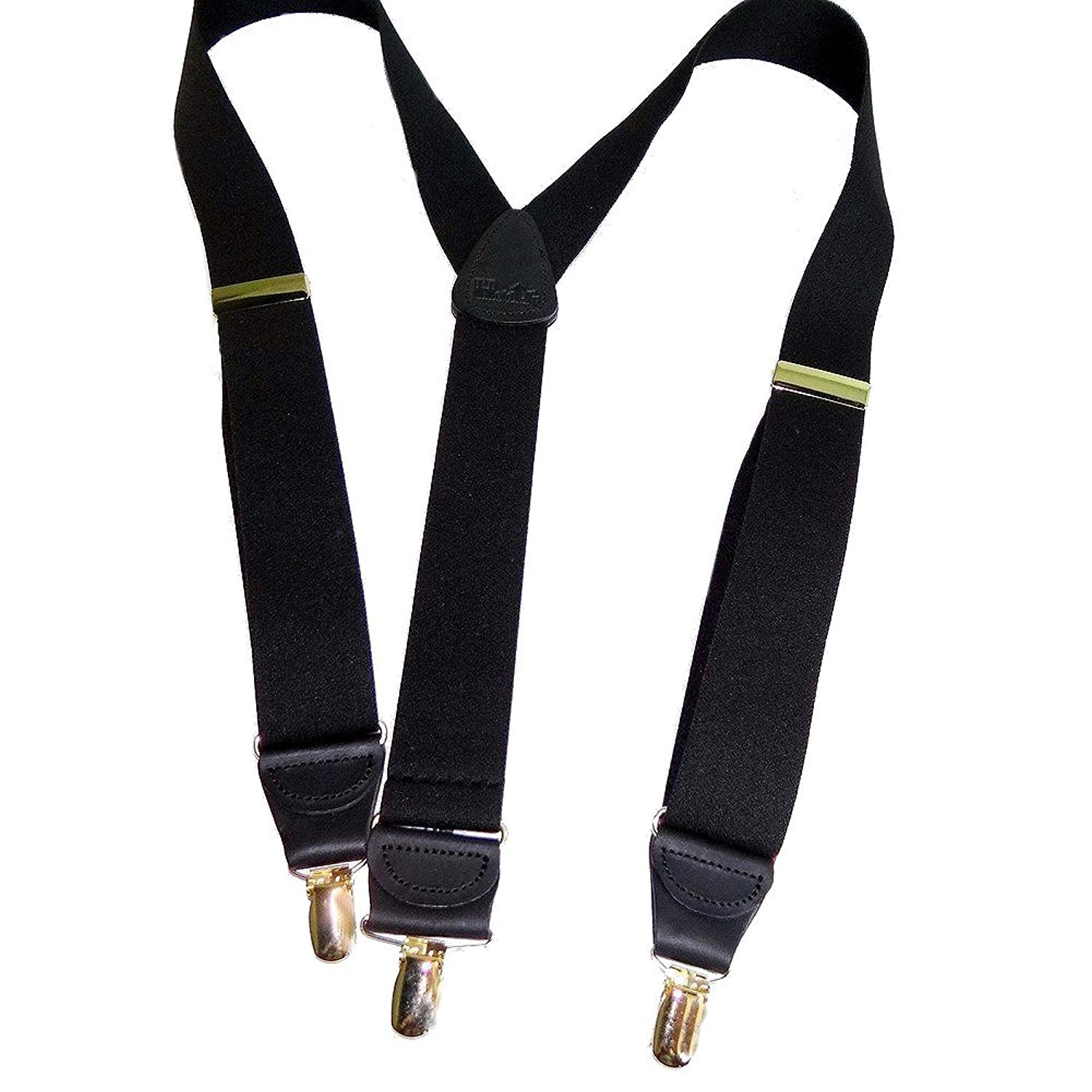 a25ccc6f2 Hold-Ups Y-back All Black Casual Series Holdup Suspenders Patented No-Slip