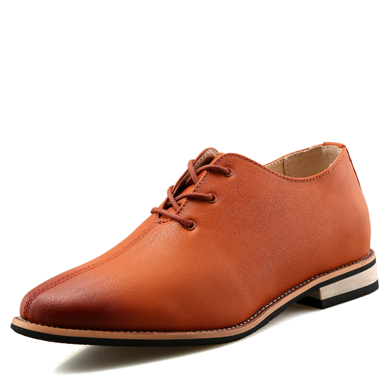 2017 elevator height increasing leather formal dress oxford shoes for men