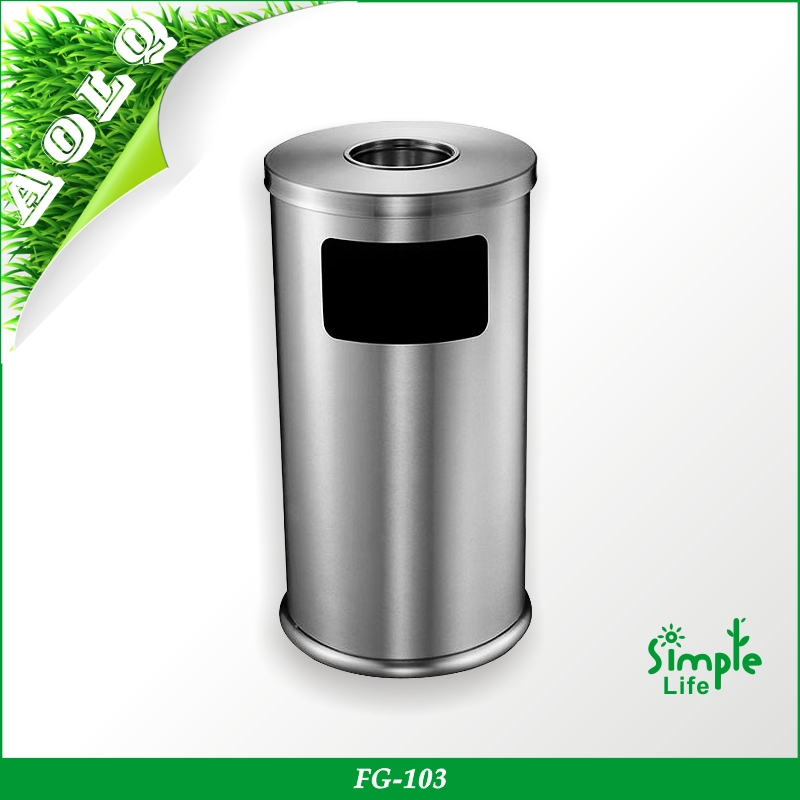 Waste Bin / 1100l Metal Garbage Container