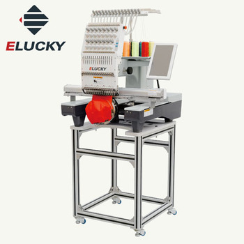 Elucky Computer Single Head Embroidery Machine CHU