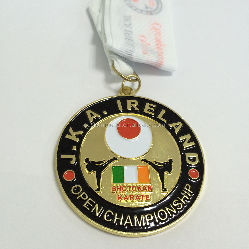 Custom Taekwondo Medal Medal Engraved With Custom Logo With Colors And  Custom Ribbon - Buy Taekwondo Medal,Custom Logo,Custom Ribbon Product on