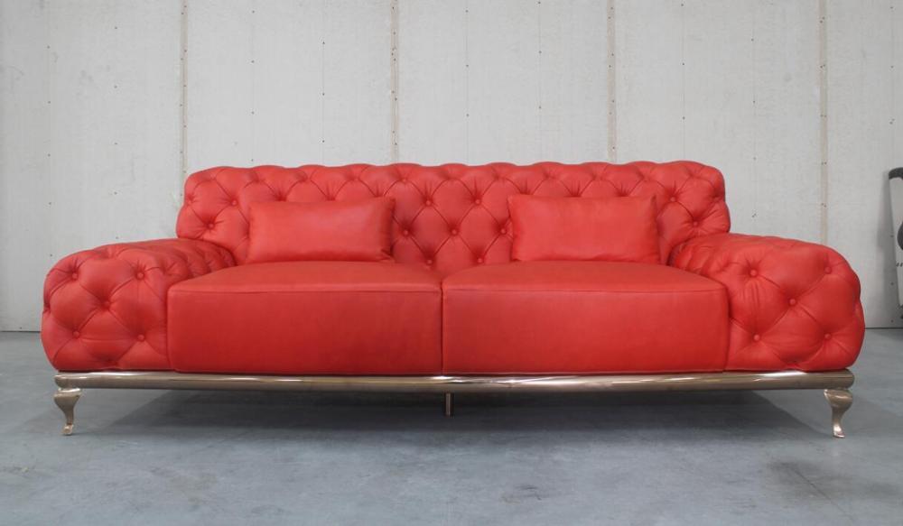 Divano Rosso Pelle : Italiana top grain in pelle nabuk rosso divano pulsante con