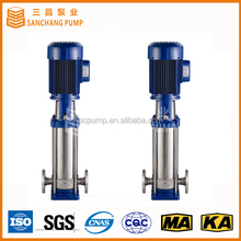 Vertical multistage centrifugal vertical centrifugal immersion pumps