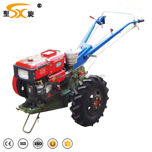 10hp mini tractor mini hand walking tractor mounted with implements