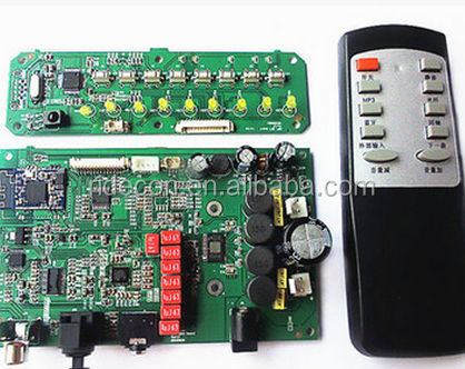 Remote pcb board for access control system TV controller pcba